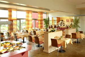 Genießen Sie im Restaurant d´Artagnan den Weitblick auf die Schwäbische Alb
