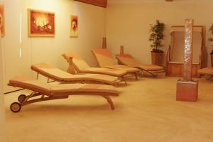 Wellness-Bar im ARAMIS - gönnen Sie sich nach dem Saunen eine kleine Erfrischung