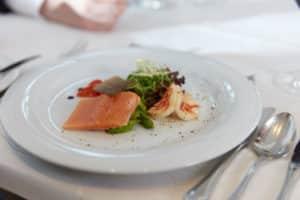 Leckere Fischgerichte im Hotel Aramis