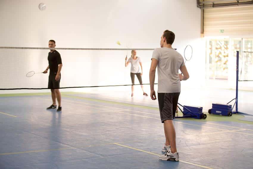 großes Sportangebot - mit Badminton bei Herrenberg
